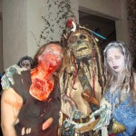 Me with a zombie pirate and the ice princess